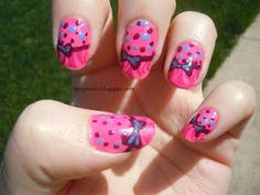 Dotting, bows, and animal print! Oh my? XD