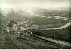 CARACAS, Municipio Libertador, Paroquia La Vega. Fábrica de cemento la Ziurrena. Vega Nueva. Años 20.