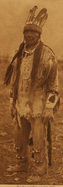 A Klamath man