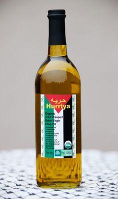 Hurriya Palestinian Fair Trade Olive Oil 750ml on Etsy, $20.00