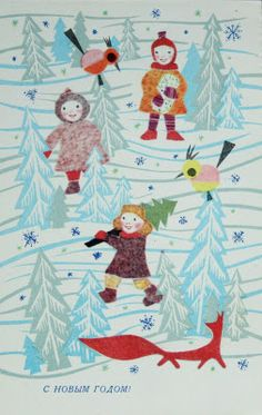Scandinavian Christmas, Vintage Christmas Cards, Jingle Bells, Winter Holidays, Vintage Postcards, Kids Rugs, Stamp, Prints, Poster