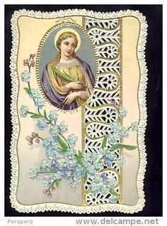 Imágenes Religiosas -  ST. BARBARA. Delcampe.net