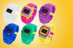 Breo Binary Retro Watch
