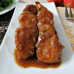 Apple Maple Glazed Pork Tenderloin
