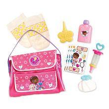 d4385b2cfcc Disney Junior Doc McStuffins Baby Checkup Diaper Bag Playset