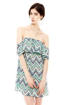 Lovely day — Tribal Print Dress