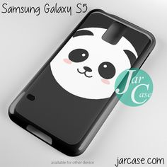 panda face Phone case for samsung galaxy S3/S4/S5