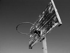 Deserted Basketball Hoop, Abq., NM | Flickr - Photo Sharing!