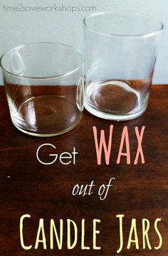 4 Easy tricks for how to get wax out of candle jar - so you can DIY your heart out!