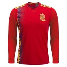 69637554d52 2018 World Cup Jersey Spain LS Home Replica Red Shirt 2018 World Cup Jersey  Spain LS Home Replica Red Shirt | Wholesale Customized [BFC421] - $22.99 :  Cheap ...