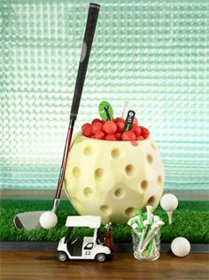 Watermelon carving is so much fun especially when you can carve Golf Ball! Simply follow the instructions and gather the necessary materials and lets get started carving watermelons!