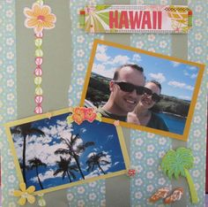hawaii Scrapbook Pages | Hawaii - Scrapbook.com