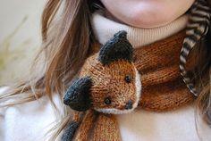 mr. fox scarf