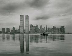 World Trade Center 1 & 2 | New York, New York | Minoru Yamasaki | photo by Timothy Hursely