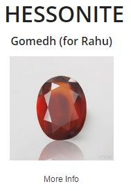 #Hessonite or #Gomed is the honey colored gemstone with beautiful luster, which earns it the name of Cinnamon Stone. Sri Lanka is the chief producer of this charming gemstone, which is the stone of the Shadow Planet, Rahu.