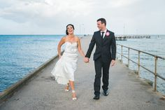 Wedding photography of Milli and Paul at St Leonard's Pier Kicks, Wedding Photography, Wedding Dresses, Fashion, Bride Dresses, Moda, Bridal Gowns, Alon Livne Wedding Dresses, Fashion Styles