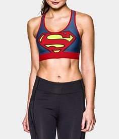 Women's Under Armour® Alter Ego HeatGear® Armour Supergirl Sports Bra | Under Armour US