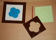 Prescrittura Montessori - come si usano gli incastri metallici 10 Montessori, Metallica, Red Riding Hood