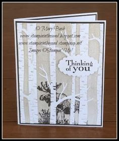 Moose in the Trees by MaryEB - Cards and Paper Crafts at Splitcoaststampers