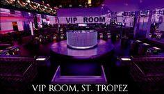 VIP Room St. Tropez #www.frenchriviera.com