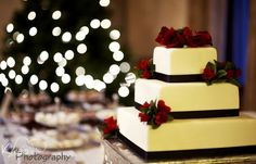 Cheesecake wedding cake - the only type of cake I'd want!