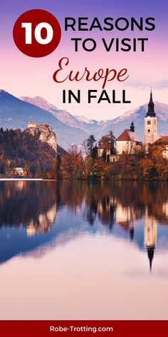 Here's how to plan the ultimate trip to Europe in Autumn. There are so many places to go to Europe in October and November. Find October sun and long beach season, enjoy a fall festival or the autumn foliage - Europe is the place to be in Autumn. Find out why, ideas on where to go and trip planning fall travel tips RIGHT HERE! #FallTravel #Europe #TravelEurope #AutumnTravel #VisitEurope