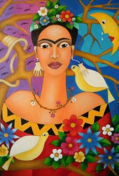 Standing, because if I want them wings to fly'. (Frida Kahlo)