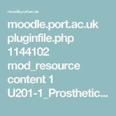 moodle.port.ac.uk pluginfile.php 1144102 mod_resource content 1 U201-1_Prosthetic%20Architecture_Brief_2016-17.pdf