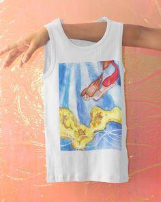 Beachwear Clothing, Mermaid Tank Top, Beach Bum, Under The Sea, The Little Mermaid, Ariel, Summer Vibes, Mermaids, Underwater