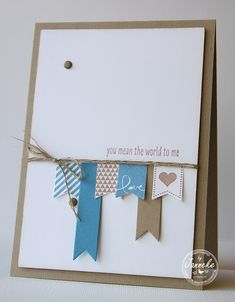 Stampin' Up! Demonstratrice Janneke : You mean the world te me