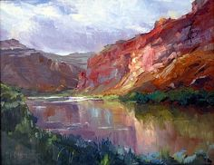 Canyon Arches by Michael Maczuga Oil ~ 11 x 14