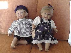 Online veilinghuis Catawiki: 2 poppen van Berenguer - Spanje