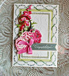 Crafty Creations with Shemaine: Pretty Paintings Card kit by Anna Griffin