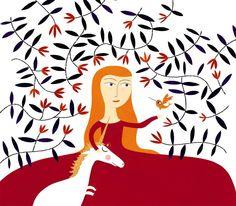 Lady with the unicorn by nicolas-gouny-art