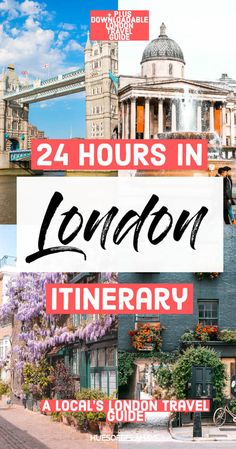 If you've only got 24 hours in London, you'll want to make the most of your time. Let a local guide you and advise you on the best things to do and see in London in 24 hours. London Guide, London Tours, London Travel, Travel Uk, Ireland Travel, Cheap Travel, European Destination, European Travel, Europe Travel Guide