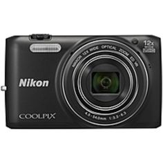 Nikon Coolpix S6800 16 Megapixel Compact Camera - Black - 3 LCD - 16:9 - 12x Optical Zoom - 4x - Digital, Optical (IS) - 4608 x 3456 Image - 1920 x 1080 Video - HDMI - HD Movie Mode - Wireless LAN