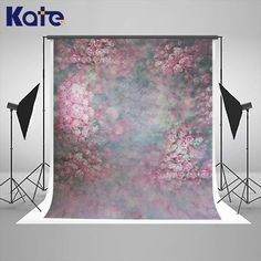 Kate abstract Backdrops floral children background photography studio