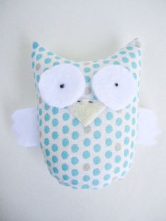 Owl softy - stuffed animal - Bert