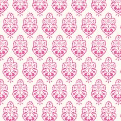Dena Fishbein - Sunshine Cotton Linen - Ornament in Pink (another idea for the latt cushions to be)