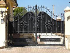 Cancello in ferro battuto e lamiera - Abruzzo