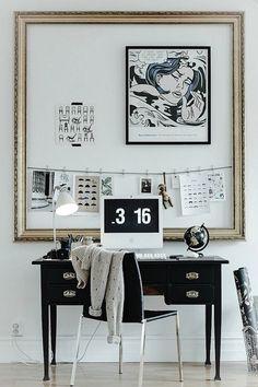Домашнее рабочее место, дизайн