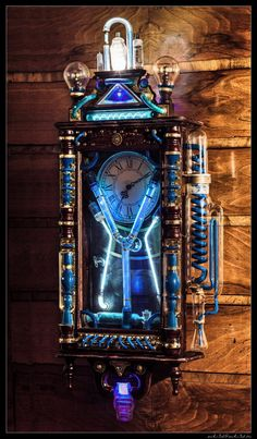 ʂŧɘąɱ ~ Steampunk Toybox ~ Steampunk Flux capacitor by Zackary