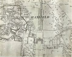 Hatfield House, Plan of Grounds