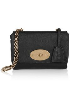 Mulberry Lily textured-leather shoulder bag | NET-A-PORTER