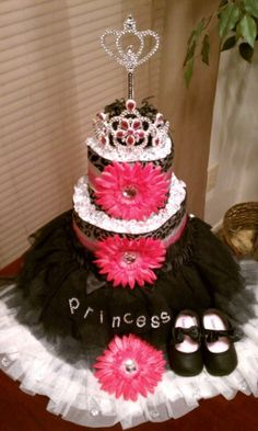 Lil Princess Diaper Cake  | followpics.co