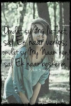 "Find and save images from the ""afrikaans quotes"" collection by Danela on We Heart It, your everyday app to get lost in what you love. Prayer Verses, Bible Verses, Jesus Quotes, Bible Quotes, Afrikaanse Quotes, Romantic Poems, Psalm 91, How He Loves Us, Religious Quotes"