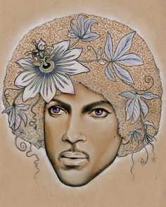 Limited Edition PRINCE Tribute Prints // Signed by SarahJaneTreats