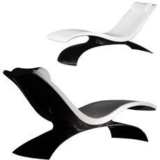 SONTUOSA by Massimo Zancai per Zedo (chaise longue in fibra di carbonio)