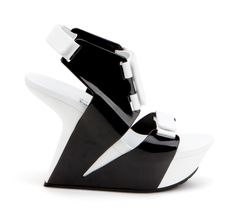 United Nude Bolt - Black and White  Shop here: http://www.temporaryshowroom.com/shop/index.php?label=160