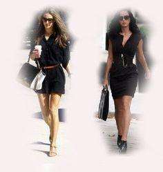 black dress, Alessandra Ambrosio VS Katy Perry fashion diva who-wore-it-better celeb celebrity